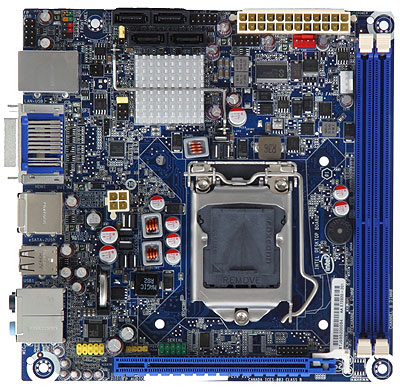 Intel desktop board dh55pj