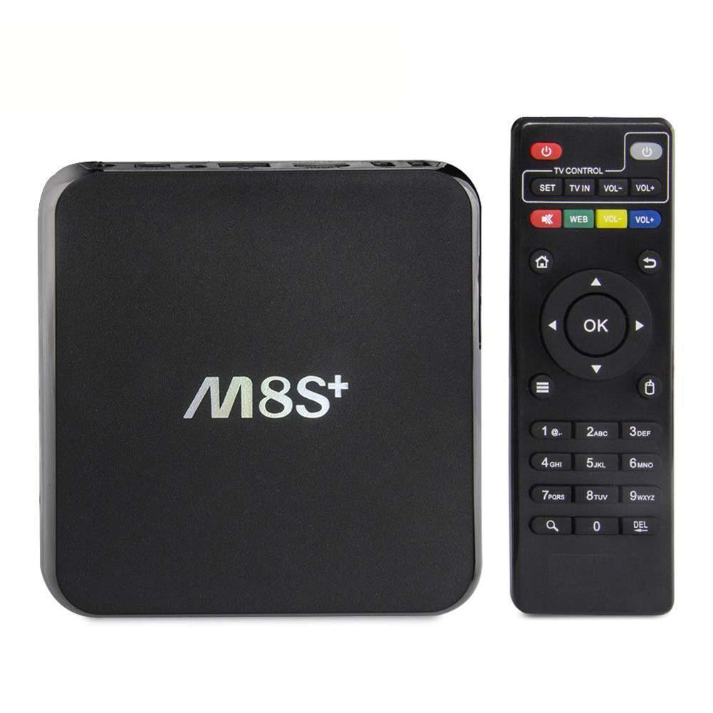 jailbroken android tv box m8s m8s plus with android 5 1 s812 quad