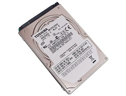 "TOSHIBA MK1252GSX 120GB 5400 RPM 8MB Cache 2.5"" SATA 3.0Gb/s Notebook Hard Drive"