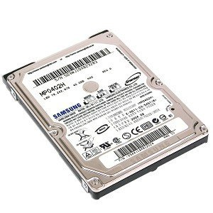 "Spinpoint SAMSUNG MP0402H 40GB 5400 RPM 8MB Cache 2.5"" ATA-6"