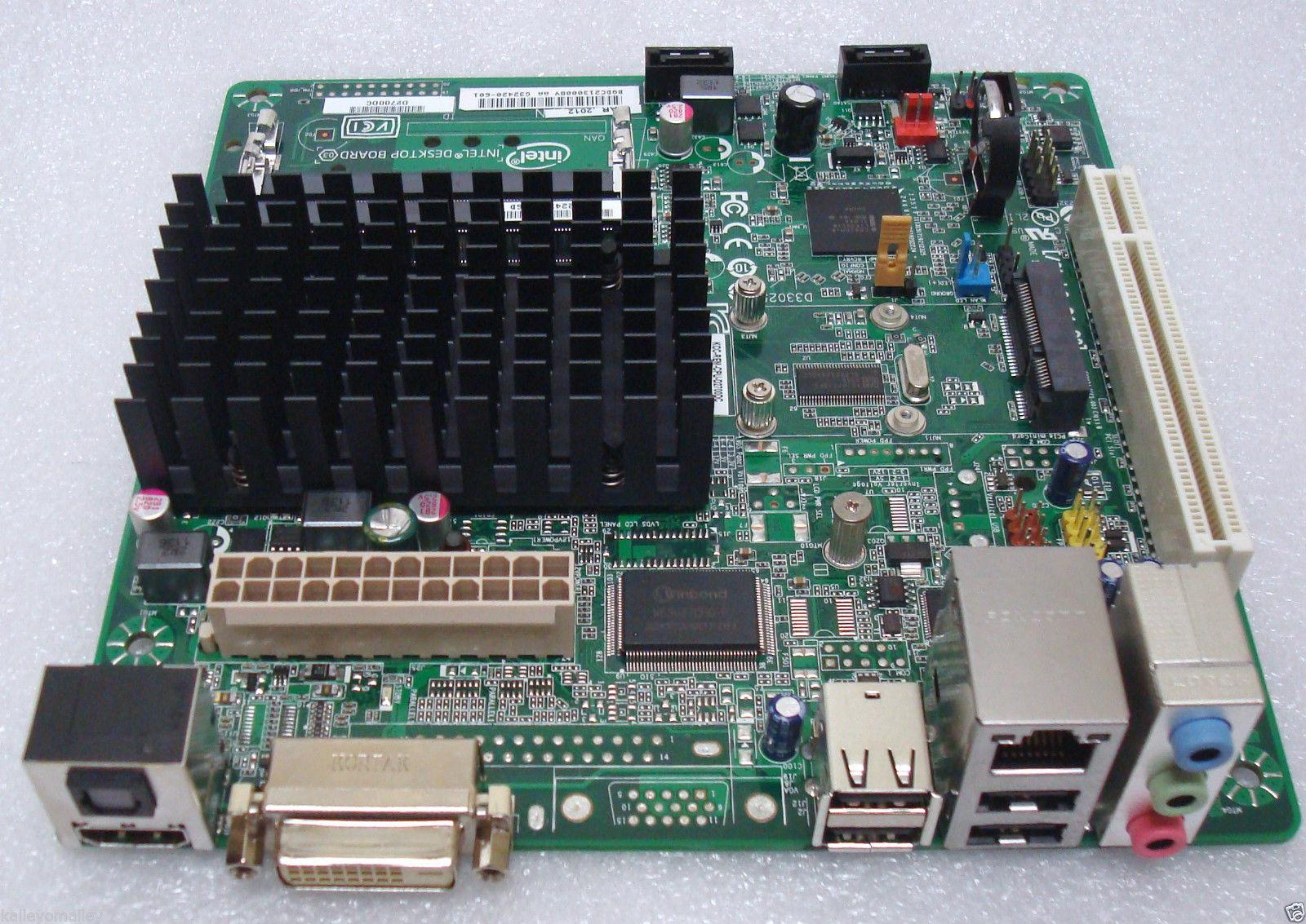 Intel D2700DC BOXD2700DC Desktop Board mITX, BGA, DDR3 ...