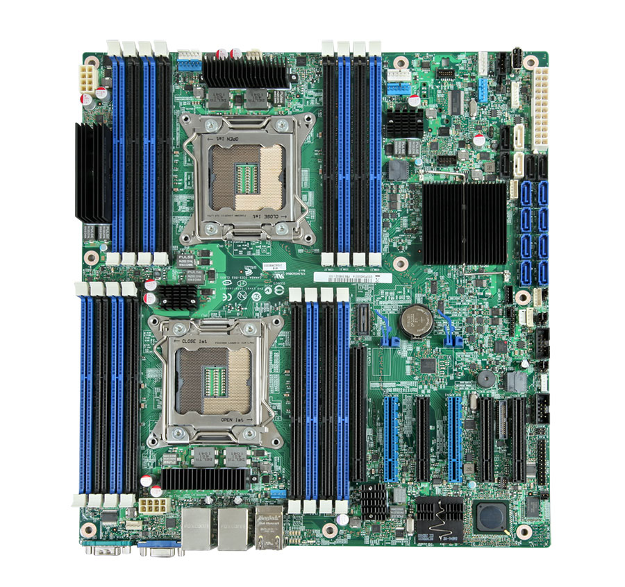 Intel DBS2600CP2 S2600CP2 Server Board SSI EEB, Socket R, DDR3