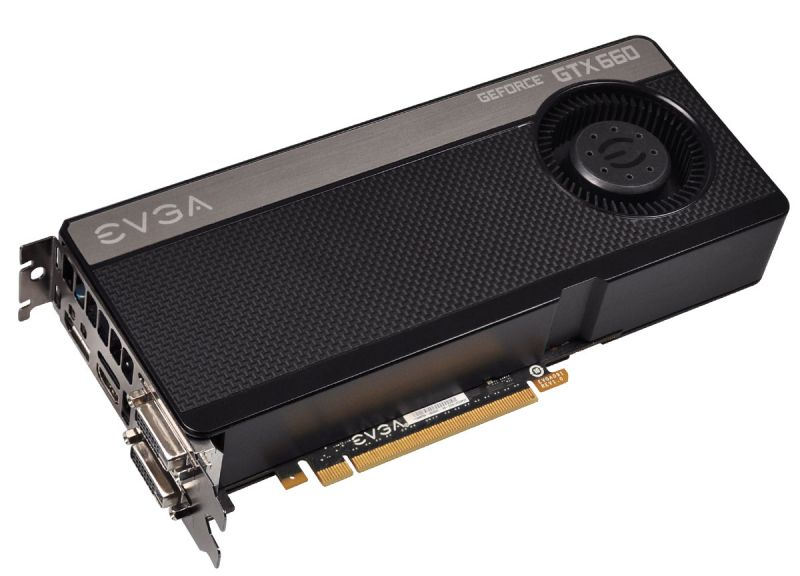 EVGA Nvidia Geforce GTX 660 Superclocked 2GB 02G-P4-2662-KR Video Card