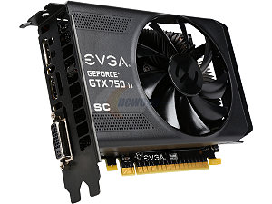 EVGA 02G-P4-3753-RX GeForce GTX 750 Ti Superclocked 2GB 128-Bit GDDR5 PCI Expres