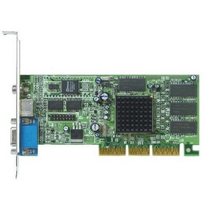 ATI Radeon 7000 32M TVO DDR AGP 4X (100-949) Video Card -100949 PN 1024-2C28-A5-SA