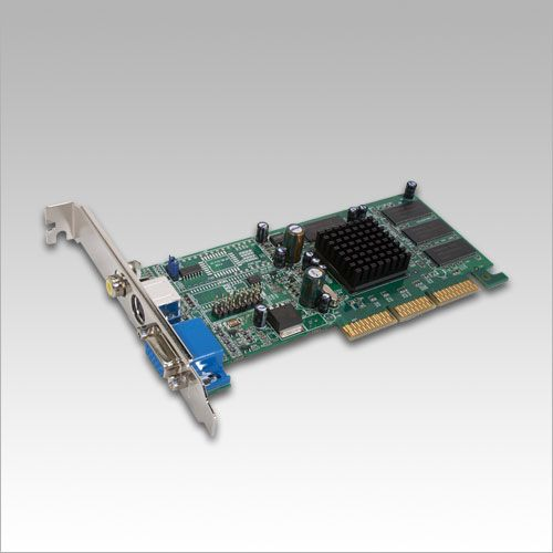 ATI Radeon 7000 64MB DDR AGP VGA RCA TV Out Video Card (100942)