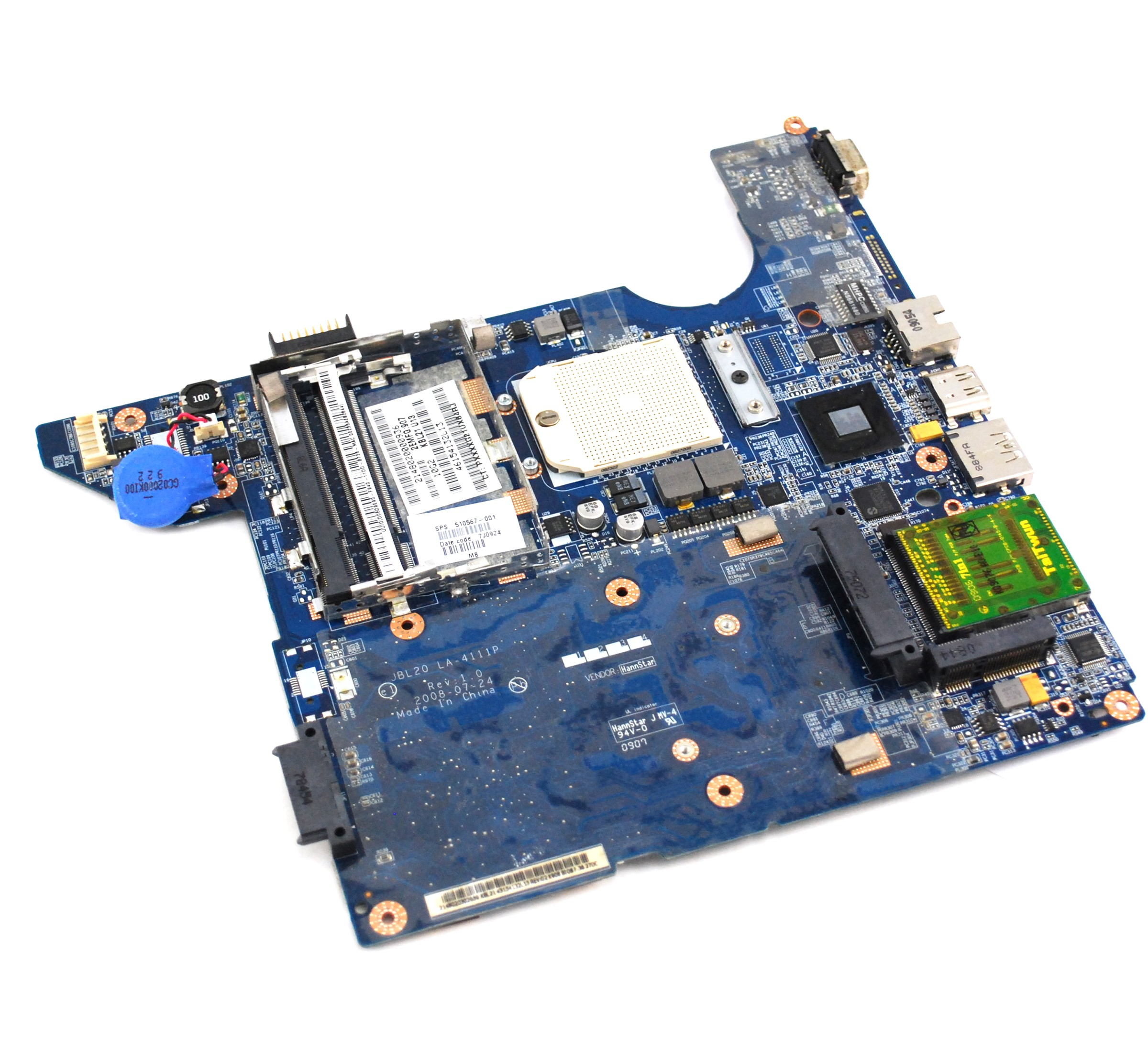Hp Compaq Cq40 Amd Laptop Motherboard 510567 001 510567
