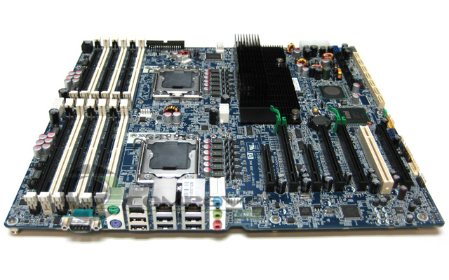 HP Workstation Z800 Motherboard Dual LGA 1366 Sockets 576202-001 - 460838-002