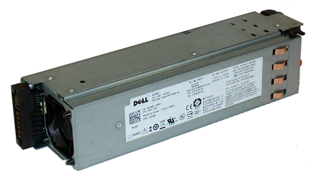 Dell PowerEdge2950 750 Watt Power Supply-DX385