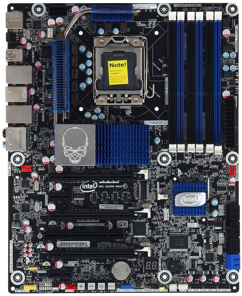 Intel Desktop Board BOXDX58SO2 - Extreme Series - motherboard