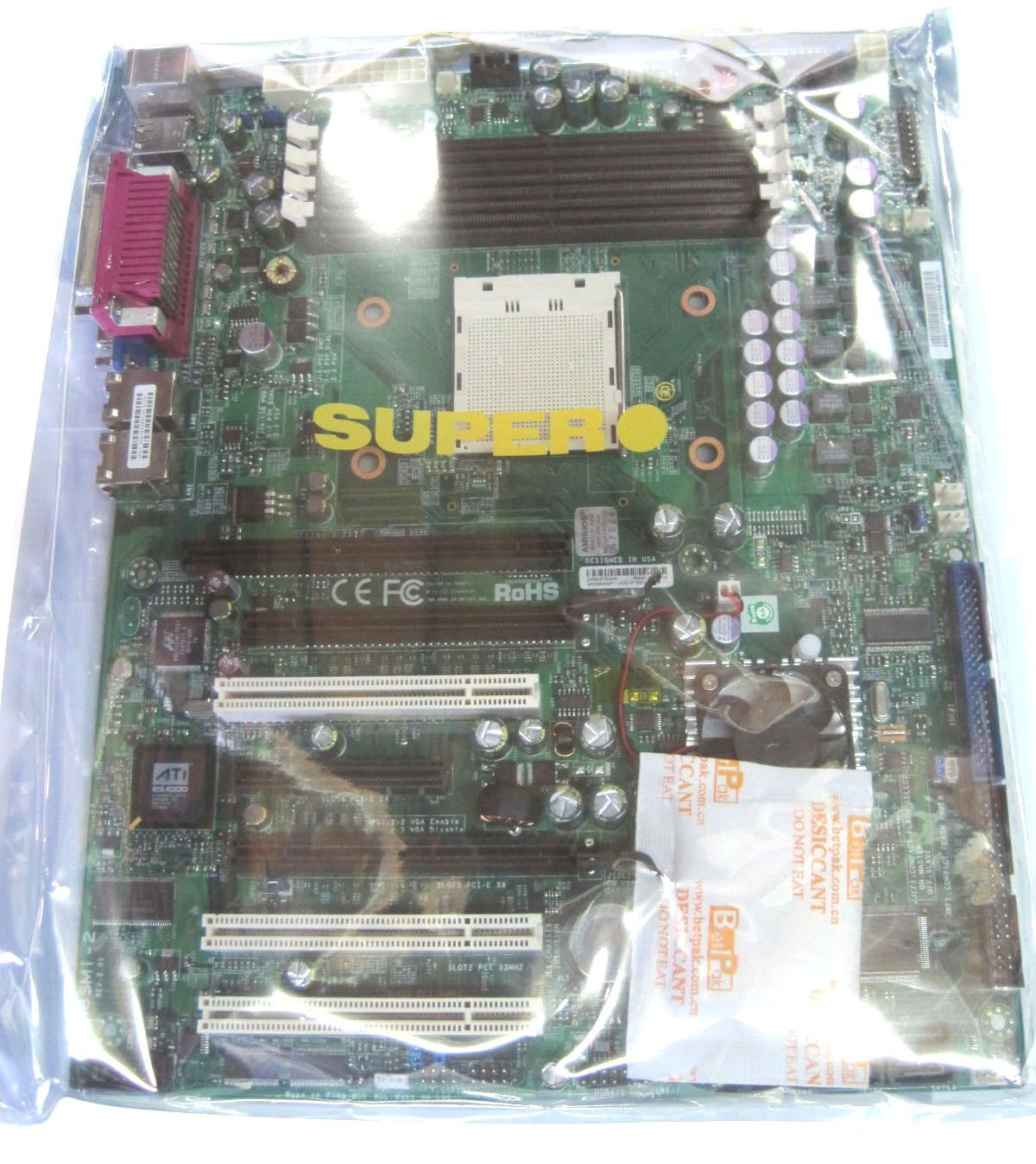 Supermicro H8SMI-2 DDR2 ATX nForce Pro 3600 940-pin AM2 Socket Server Motherboard