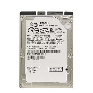 "HTS721080G9SA00 (0A25026) Hitachi Travelstar 7K100 80GB SATA/150 7200RPM 8MB 2.5"" Hard Drive"