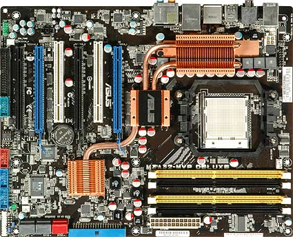 ASUS M3A32-MVP Deluxe/WiFi-AP Phenom Socket-AM3 ATX MB