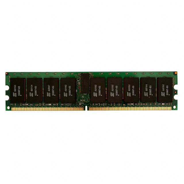 Micron 1GB PC2-3200 DDR2-400MHz ECC Unbuffered CL3 240-Pin
