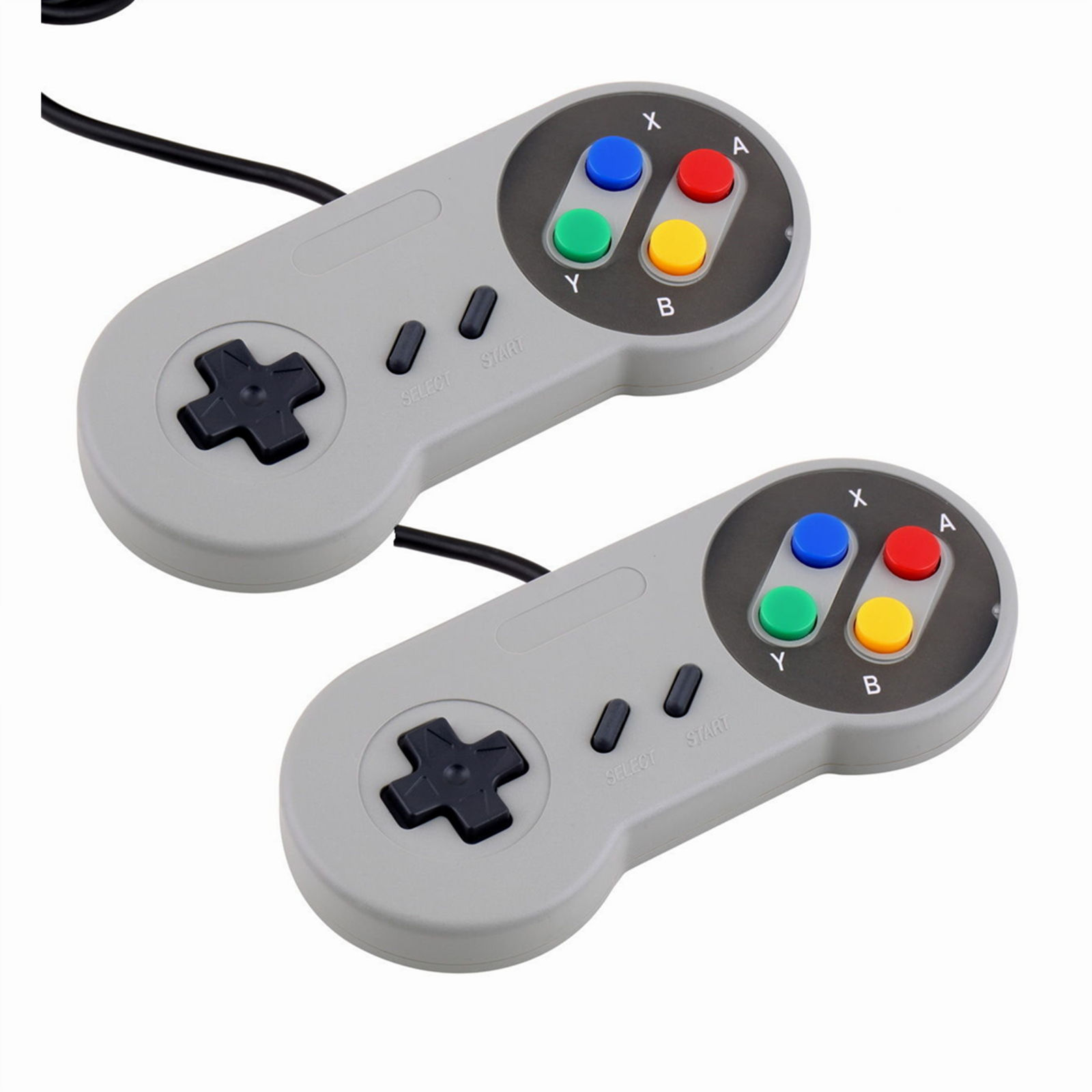 2x Super Nintendo SNES USB Controller GAME PAD For PC Raspberry Pi 3 RetroPie