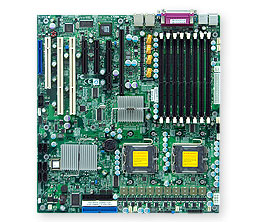 Supermicro X7DBN Extended ATX LGA 771 Intel 5000P Motherboard